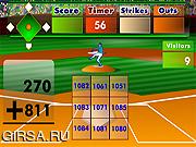 Флеш игра онлайн Бейсбол