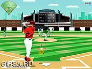 Флеш игра онлайн Лига бейсбола