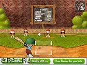 Флеш игра онлайн Веселый бейсбол / Baseball Jam