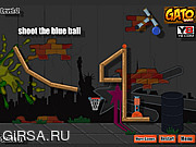Флеш игра онлайн Баскетбол-пушка / Basketball Cannon