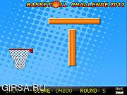 Флеш игра онлайн Баскетбольный вызов 2012 / Basketball Challenge 2012