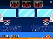 Флеш игра онлайн Веселый баскетбол / Basketmole