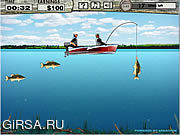 Флеш игра онлайн Bass Fishing Pro