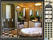 Флеш игра онлайн Найти предметы - Ванная комната