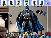 Флеш игра онлайн Batman Bedroom Hidden Object