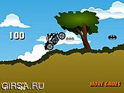 Флеш игра онлайн Мото-Бэтмэн / Batman Bike