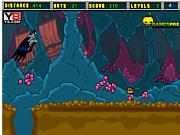 Флеш игра онлайн Бэтмен в пещере / Batman Cave Run