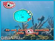Флеш игра онлайн Battle Fish