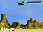 Флеш игра онлайн Battle Tank Desert Mission