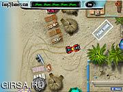 Флеш игра онлайн Пляж Парковка