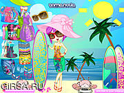 Флеш игра онлайн Zelia Beach Dress Up
