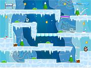 Флеш игра онлайн Bear Big and Bear Two Antarctic Adventure 2
