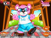 Флеш игра онлайн Наряд для медвежонка / Bear Dressup