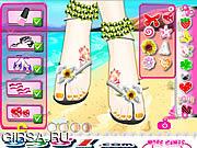 Флеш игра онлайн Красивые ноги шоу / Beautiful Feet Show