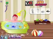 Флеш игра онлайн Красивый малыш / Beauty Care Baby
