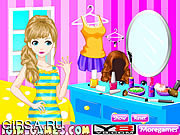 Флеш игра онлайн Красивый макияж / Being Beauty Makeover