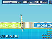Флеш игра онлайн Belly Flop Hero