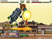 Флеш игра онлайн Ben 10 - Saving Sparksville