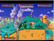 Флеш игра онлайн Бен 10. Атака 2 / Ben 10 Armored Attack 2