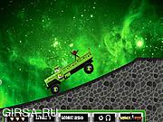 Флеш игра онлайн Ben 10 Aliens Truck