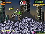 Флеш игра онлайн Бен. Велосипедный вызов / Ben 10 Bike Challenge