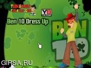 Флеш игра онлайн Наряд для Бена 10 / Ben 10 Dressup