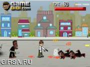 Флеш игра онлайн Бен. Ганстерские войны / Ben 10 Gang War