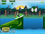 Флеш игра онлайн Ben 10 Jetski