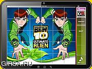 Флеш игра онлайн Ben 10 Puzzle Game