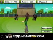 Флеш игра онлайн Бен играет в крикет