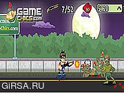 Флеш игра онлайн Бен 10 - Зомби Хэллоуин / Ben 10 Zombie Halloween