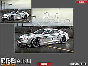 Флеш игра онлайн Бентли. Мозайка / Bentley Jigsaw