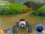 Флеш игра онлайн Big Foot 3D