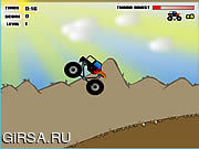 Флеш игра онлайн Big Truck Adventures - Canyon Run