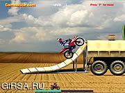 Флеш игра онлайн Велосипедная зона 3 / Bike Zone 3