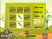 Флеш игра онлайн Птицы Идеальный Матч / Birds Perfect Match