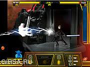 Флеш игра онлайн Jedi vs. Jedi: Blades of Light