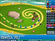Флеш игра онлайн Bloons Tower Defense 4 Expansion