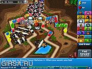 Флеш игра онлайн Bloons Tower Defense 4