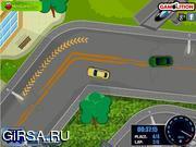 Флеш игра онлайн Вождение BMW / BMW Driving Challenge