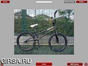 Флеш игра онлайн Велосипеды - пазл / BMX Bike Jigsaw