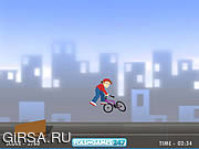 Флеш игра онлайн BMX мальчик