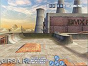 Флеш игра онлайн BMX фристайлу
