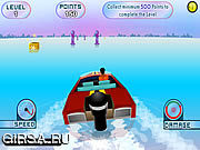 Флеш игра онлайн Power Boat Challenge