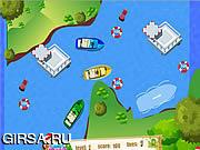 Флеш игра онлайн Boat Parking