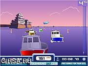 Флеш игра онлайн Лодка Rush / Boat Rush