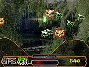 Флеш игра онлайн Лягушка в поисках еды / Bouncing Frog