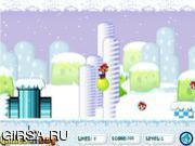 Флеш игра онлайн Прыгающий Марио 2 / Bouncing Mario 2