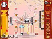 Флеш игра онлайн Прыгающий Панда Законом