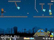 Флеш игра онлайн Боунси 2 / Bouncy 2